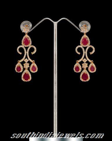a7edd2198cb396 Buy Designer earrings from Chaahat Fashion jewellery ~ South India ...