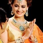Dia Mirza in Diamond Jewelleries
