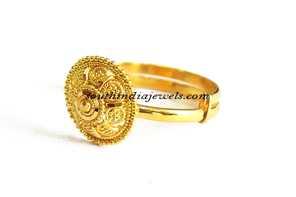 Gold Adjustable rings