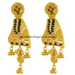 Gold Earrings from Kerala jewellers