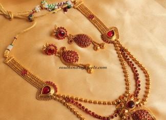 Imitation Jewelry Long haram set