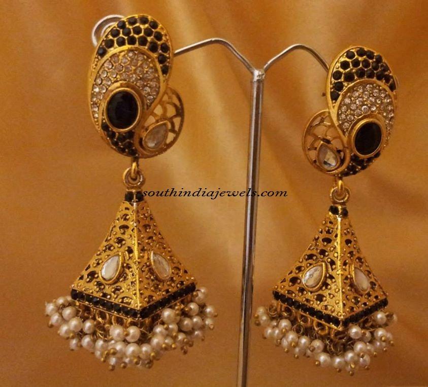 Imitation Pearl Jhumka