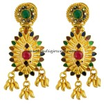 Kerala jewellery earrings with price