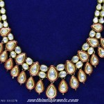 Simple Kundan Necklace Design
