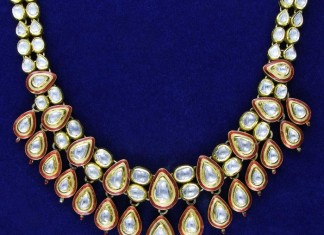 Kundan Necklace design