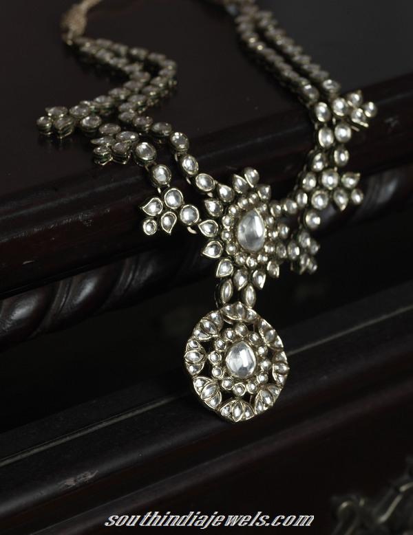 kundan necklace tanishq