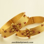 Latest gold bangles design from PNG Jewellers