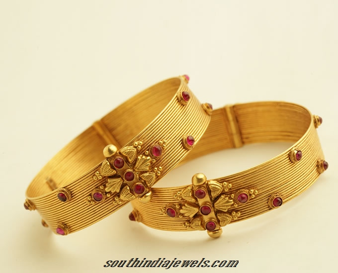 817ff747f Latest gold bangles design from PNG Jewellers ~ South India Jewels