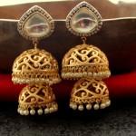 Imitation Jhumka design