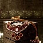 Neck Choker with precious polki diamonds
