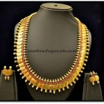 South Indian Jewellery : Kasumalai set