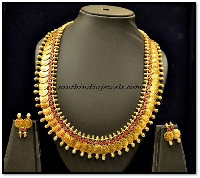 Southindia Jewellery Kasumalai set