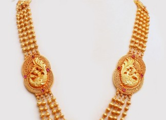 Temple Jewellery Long Harram Necklace