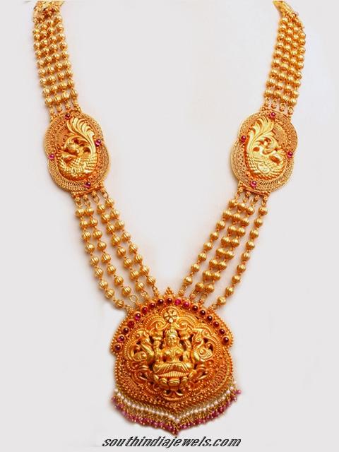 Temple Jewellery Long Harram Necklace