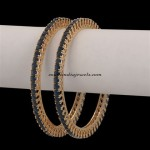 Artificial jewellery : Stone bangles