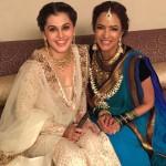 Celebrity Jewellery Designs – Tapsee panu & Lakshmi Manju