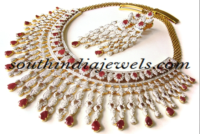Diamond Jewellery Design choker set