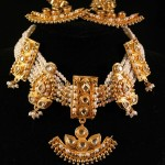 Kundan Fashion jewelry necklace set