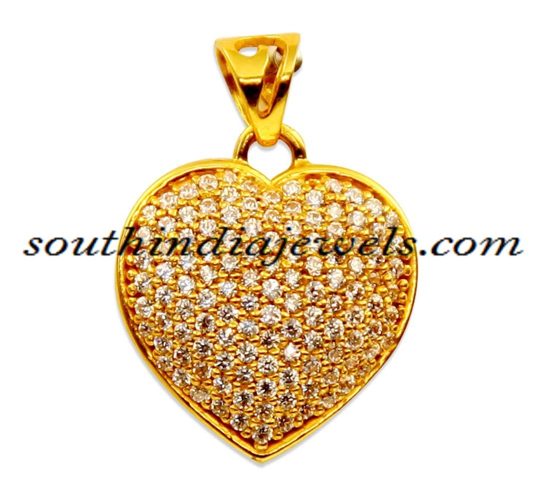 Gold Pendant | Antique Gold Pendant | Diamond Pendant Designs