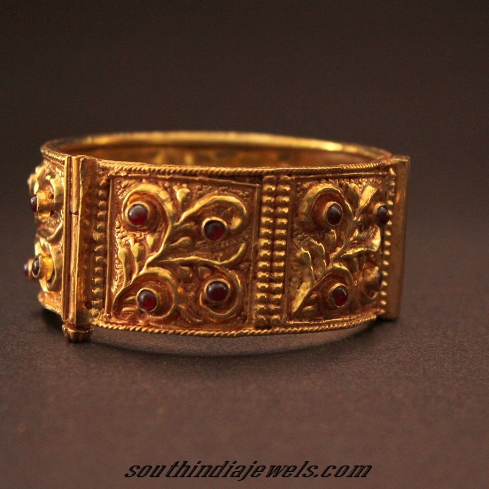 Gold Plated Bracelet South India Jewels
