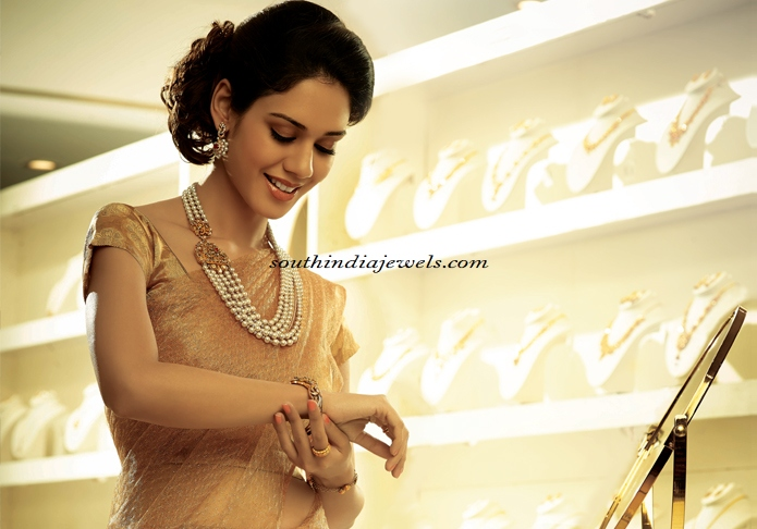 GRT Jewellers Necklace designs