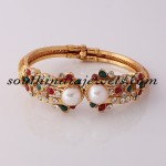Imitation Jewellery : Adjustable bracelet Kada