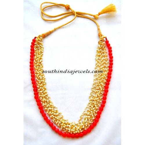 Indian-multilayer-pearl-necklace