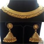 Imitation Jhumka Necklace set