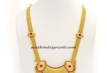 Kerala Jewellery design Gold haram
