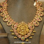 Lakshmi Ruby Necklace
