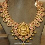 Lakshmi Ruby Necklace