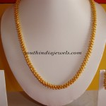 One gram gold jewelry chain design