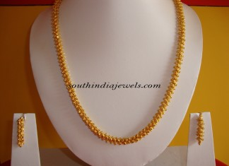 One gram gold chain