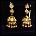 Polki Jhumka Earrings