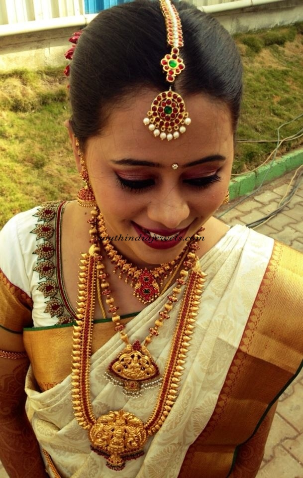 Bridal Wedding Jewellery for South Indian bride ~ South India Jewels