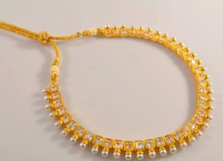 1-Gram-gold-Kundan-necklace