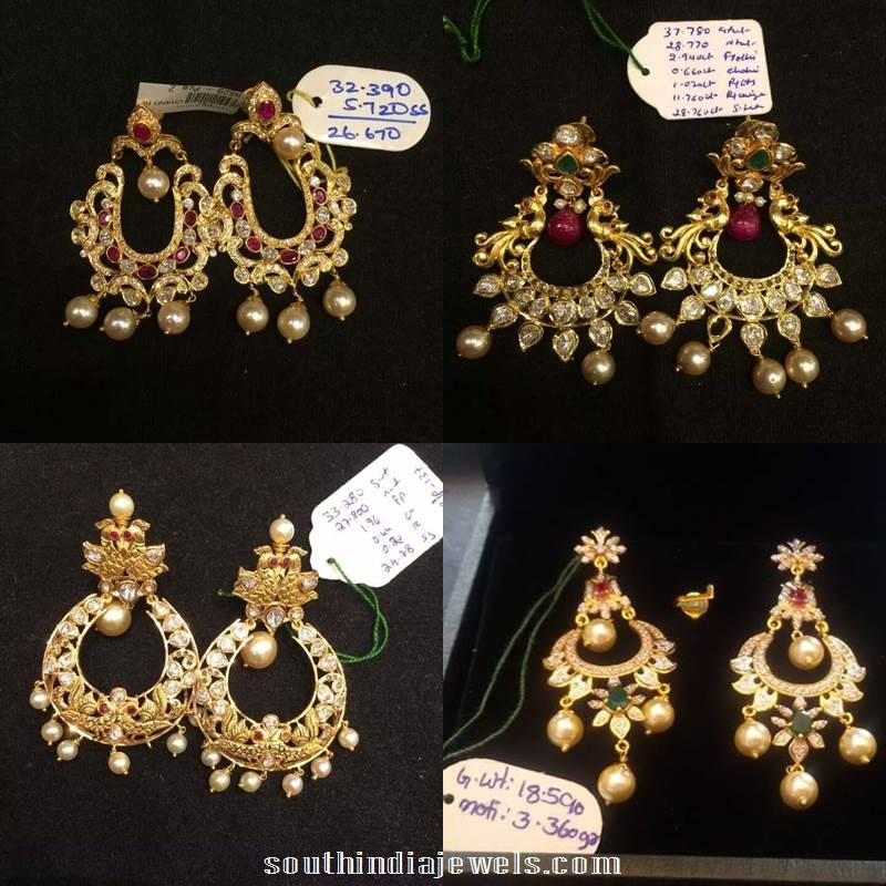22K Gold Chandbalis