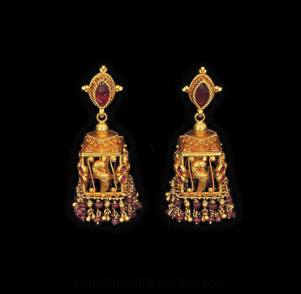 Latest Antique Jhumka Designs