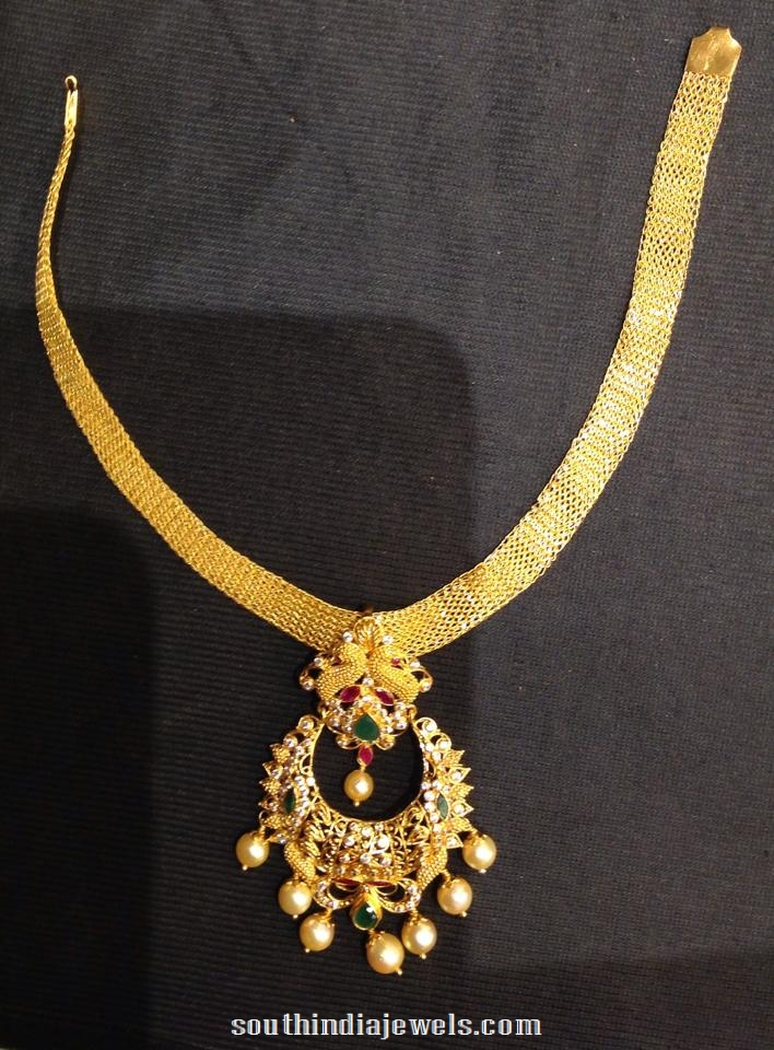 Gold Attigai Design