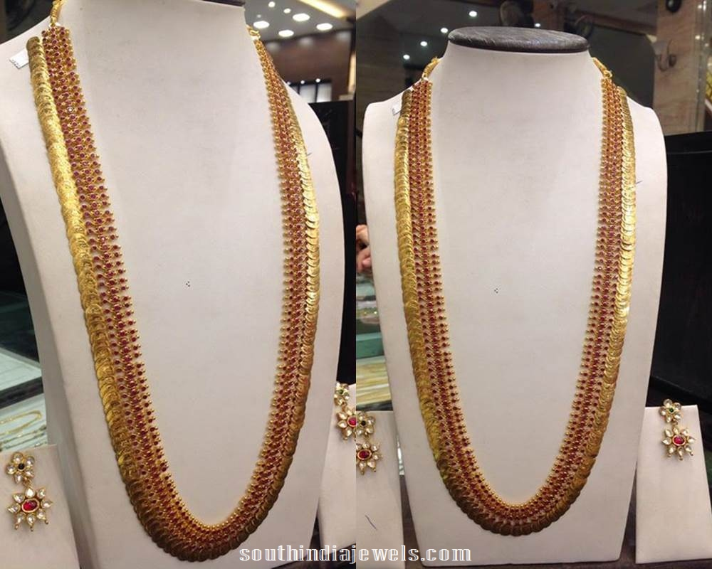 Latest Long Necklace Design Catalog ~ South India Jewels