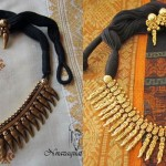 Hand Crafted Antique Spike Necklace Set