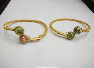 Imitation Zircon Bangles Latest design