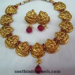 Imitation Lakshmi Motif Necklace