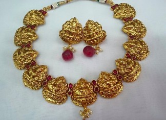 Imitation Lakshmi temple Jewellery