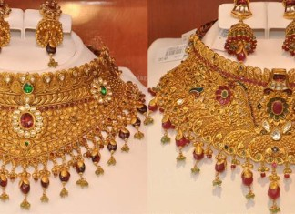 Kazana Jewellery latest choker necklace designs