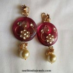 Kundan and Pearl Studded Earrings