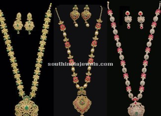 Latest Long Necklace Designs 2015