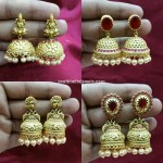 8 Stunning Imitation Antique Jhumkas