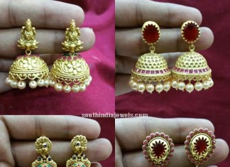 Latest-matt-finish-jhumka-designs-2015