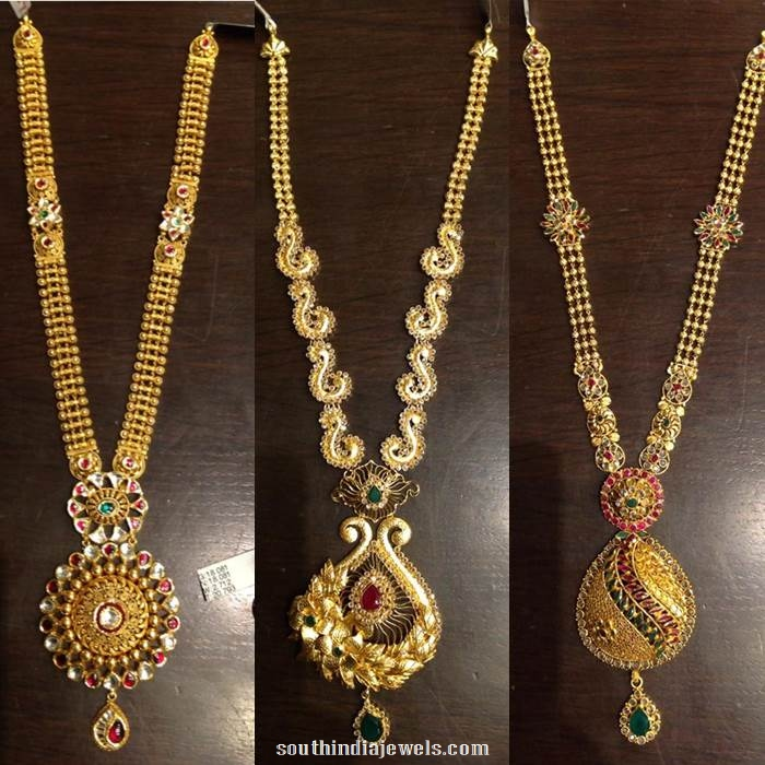 Latest Long Necklace Catalogue